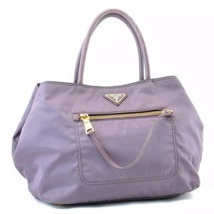 Authentic PRADA Bag Purple